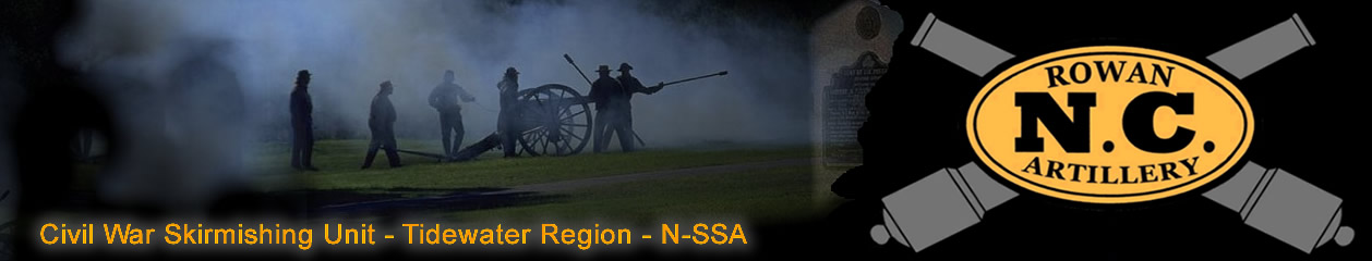 Rowan Artillery – North-South Skirmish Association – Tidewater Region